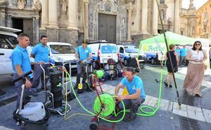 Sostenibilidad y conciliación como ejes de la limpieza de los edificios municipales en Murcia