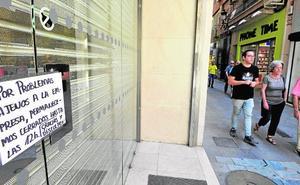 Comerciantes de Platería se quejan de un corte de luz en horario comercial