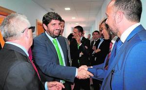López Miras inaugura la residencia de personas mayores de San Isidro