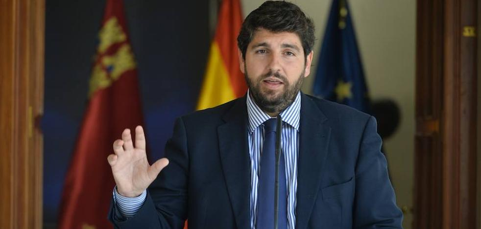 López Miras: «No se va a reformar un sistema injusto y que discrimina a los murcianos»