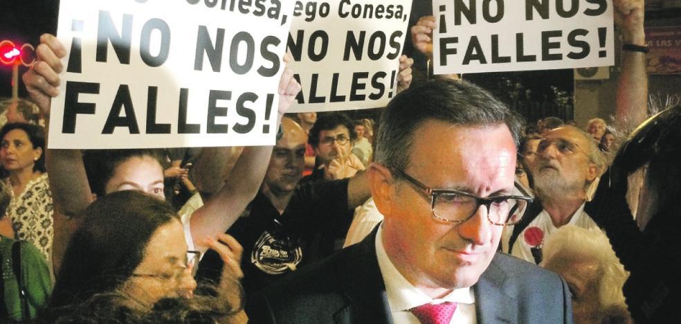 Diego Conesa: «La política de las imposiciones ya es historia»