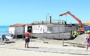 Empiezan a desmantelar el Floridablanca en San Pedro