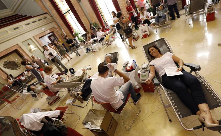 Murcia celebra su III Maratón de Sangre