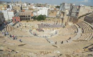 Las visitas al Teatro Romano de Cartagena aumentan un 7,6% entre enero y mayo