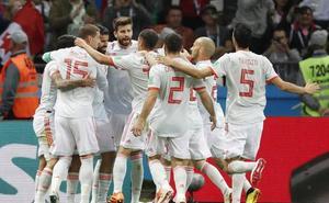 La victoria de España ante Irán en el Mundial arrasa con récord de audiencia
