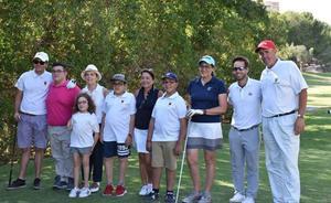 Deporte y solidaridad se unen en el V Campeonato de golf de 'Los Pulseras Verdes'