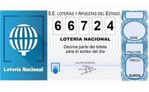 Una administración de Lorca consigna parte del primer premio de la Lotería Nacional
