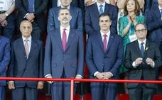El Govern dice que se «seleccionó» al público de los Juegos Mediterráneos que abucheó a Torra