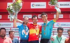 Plata para Valverde en el Campeonato de España