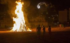 Los servicios de emergencias atendieron casi 200 incidencias durante la Noche de San Juan