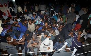 Libia recupera diez cadáveres y rescata con vida a 948 migrantes y refugiados
