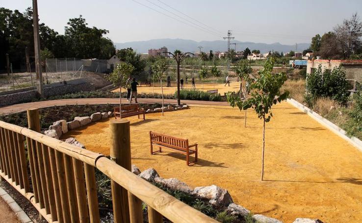 'Murcia Río' estrena su primer parque fluvial