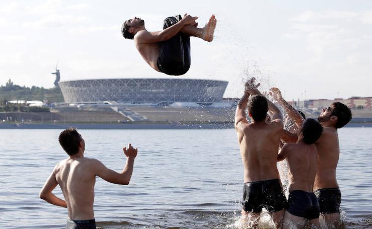 En el interior de Rusia también hay playa
