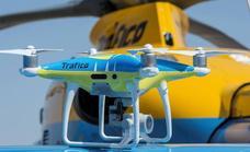 Cinco drones de Tráfico vigilarán las carreteras este verano