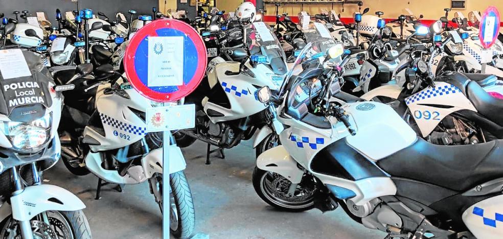 El SIME denuncia el colapso en la Policía Local para las reparaciones de vehículos