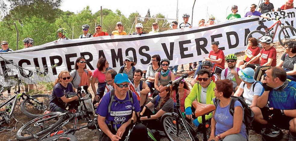 MurciaenBici denuncia a Expal por la ocupación del Cordel de los Valencianos