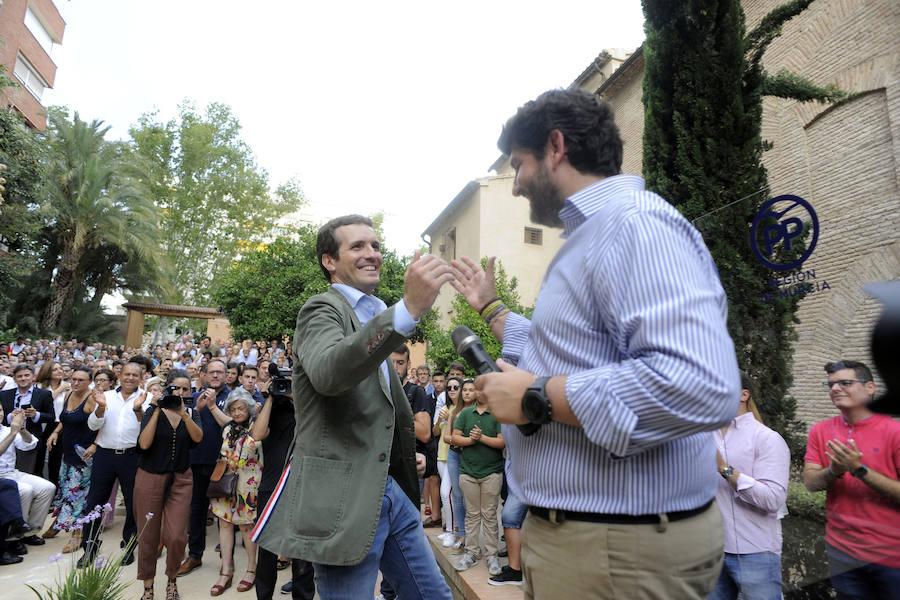 Casado: «Sánchez es una mala copia de Zapatero y ha enfrentado a los españoles en solo unos días»