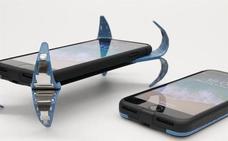 Un estudiante de ingeniería inventa un 'airbag' para proteger la pantalla del móvil cuando cae al suelo