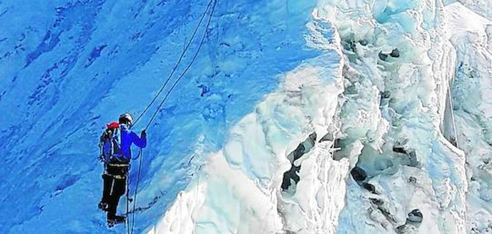 Lágrimas frente al Everest