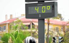 Primera alerta amarilla por máximas de 38 grados en la Vega del Segura