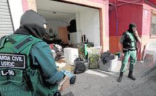 Una redada contra el tráfico de 'maría' se salda con tres detenidos