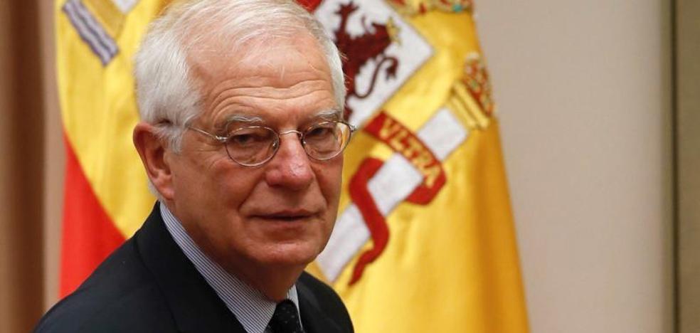 Borrell avisa de que no permitirá que se difame a España en el Exterior
