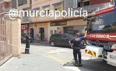 Controlado un incendio en un edificio junto a la Plaza de Toros de Murcia