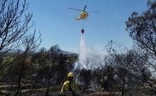 Cotrolado un incendio forestal en Lorca