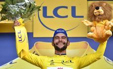 Gaviria se viste de amarillo y Froome y Quintana pierden tiempo
