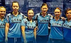 El UCAM Cartagena femenino, único equipo español en Liga de Campeones europea