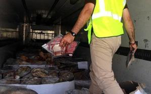 Nuevo escándalo del jamón ibérico: intervienen otros 10.700 en mal estado