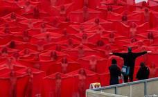 500 australianos se desnudan para Tunick
