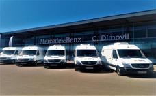 Comercial Dimovil, opción de DFM Rent a Car para ampliar su flota de furgonetas ligeras