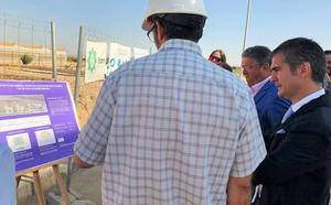 El humedal de la depuradora de Los Alcázares contribuirá a limpiar el Mar Menor