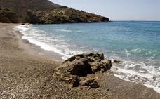 Mapa de las mejores playas nudistas de la Región de Murcia