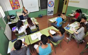 Casi un millar de alumnos de cuarto de ESO asisten a un programa de refuerzo educativo