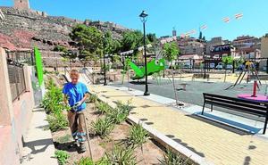 El parque de las Mujeres suma otro pulmón verde con vistas al castillo