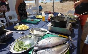 Recetas en familia a la orilla de la playa
