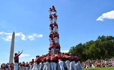 Castellers en Washington