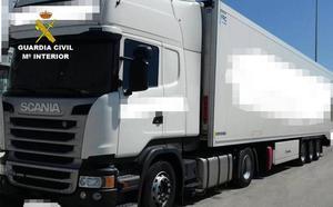 Detenido en Molina por estafar 350.000 euros alquilando camiones para venderlos