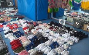Decomisan 223 productos falsificados de un almacén de pesca en Cabo de Palos