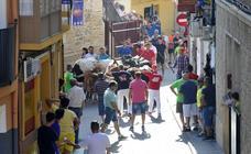 Dos heridos leves en el primer encierro de Moratalla