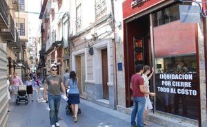 Murcia lidera la estadística tanto de empresas que abren como que cierran