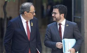 Los vicepresidentes Calvo y Aragonès se reúnen para apuntalar los puentes