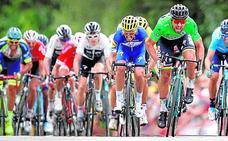 Valverde asoma en el doblete de Sagan