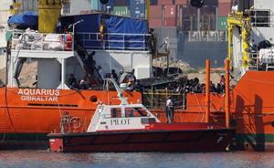 Un total de 26 inmigrantes del 'Aquarius' fueron trasladados a la Región