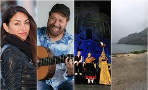 Música, espectáculos y cine durante el fin de semana en la Región