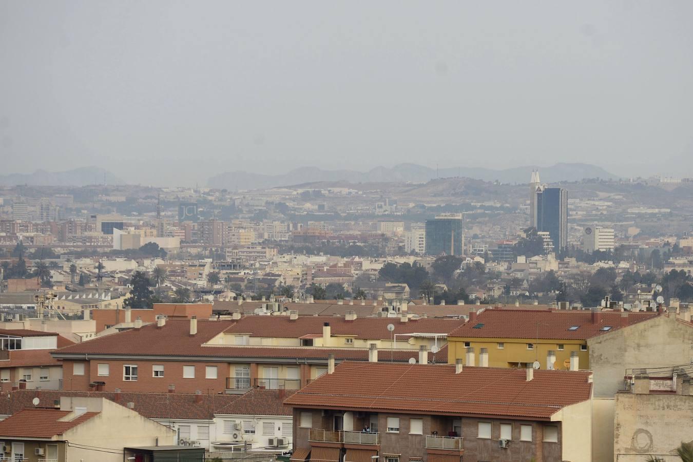 Ecologistas en Acción pide medidas urgentes ante los niveles «disparados» de ozono en regiones como la de Murcia
