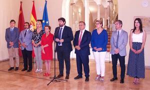 López Miras convoca a la sociedad murciana ante el «robo» del AVE