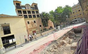 La arqueóloga municipal aconseja proteger los restos del siglo XV